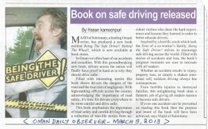 Book Release Oman Observer