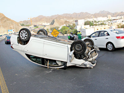 image Reason behind road accidents